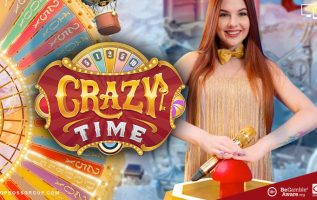 Live Crazy Time - Evolution Gaming live casino game
