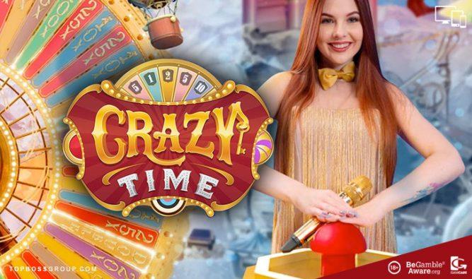 Live Crazy Time - Evolution Gaming live casino game
