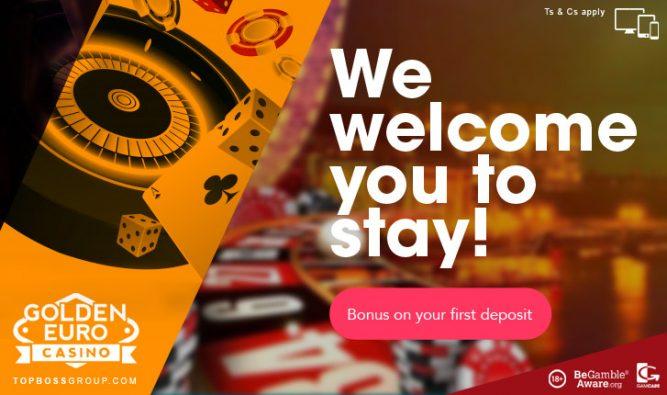 Golden Euro Casino new player free bonus