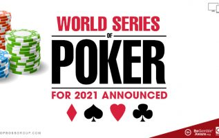 World series of poker WSOP) for 2021 Announced