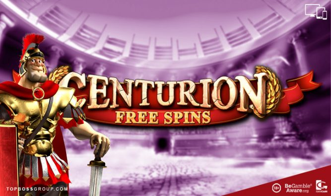 centurion free spins paying slots