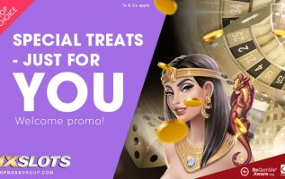 1xslot Casino offering treats for new players