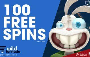 Wildtornado Casino giving you free spins