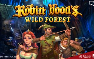 robin hoods wild forest slot game by Red Tiger Gaming