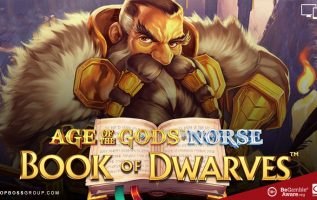 brand new slot games from playtech Age of the Gods Norse book of Dwarves