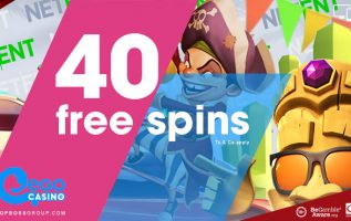 EgoCasino is offering new signup players 40 free spins