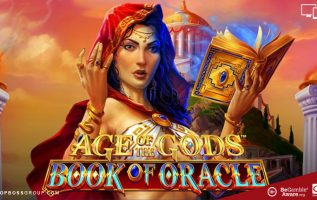 new playtech slot Age Of The Gods Book of Oracle