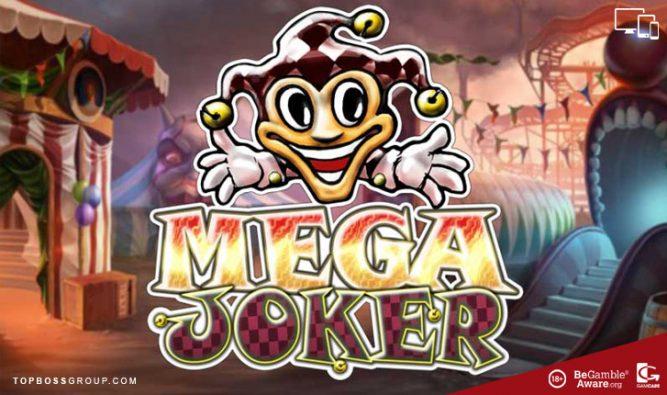 Mega Joker Bitcoin Slot by NetEnt