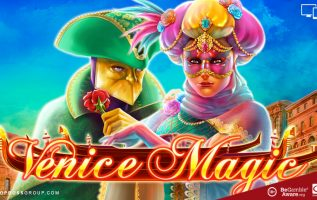 Venice Magic exclusive slot by Side City Studios