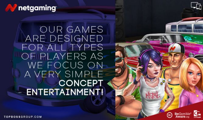 Netgaming entertainment games