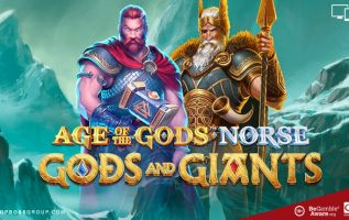 playtech brings you Age of the Gods Norse Gods and Giants
