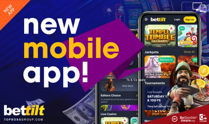 bettilt has a new mobile gaming app for casino players