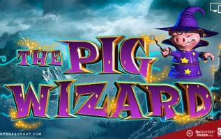 Pig wizard scratch card Blueprint gaming