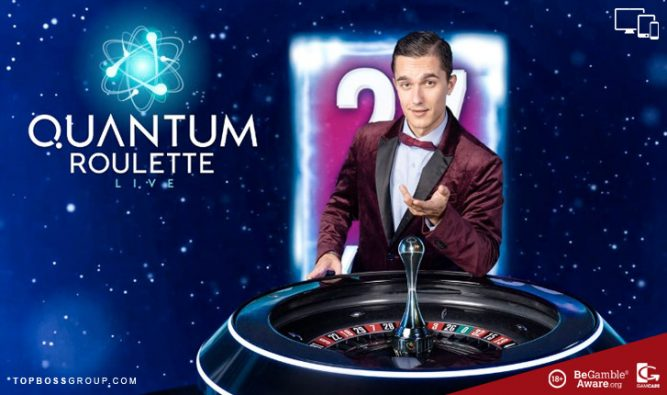 game show slot Live Quantum Roulette from Playtech