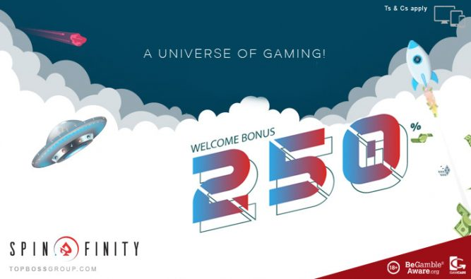 spin finity a universe of gaming casino