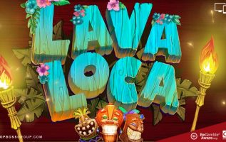 Lava Loco video slot by Booming Games