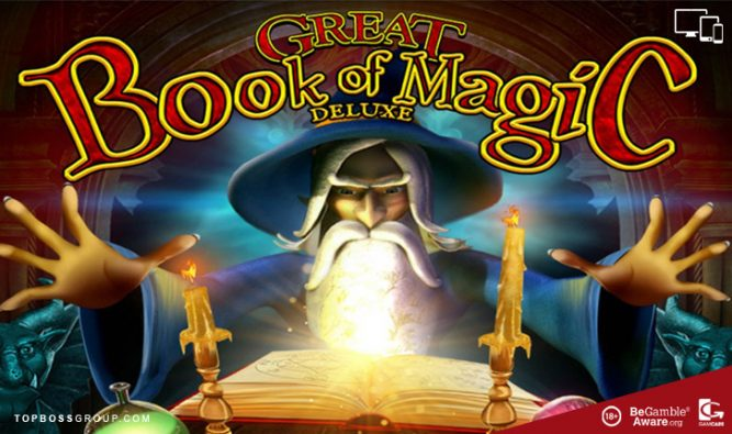 Great Book of Magic Deluxe Wazdan slots play