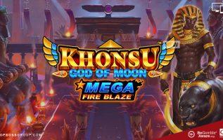 Khonsu God of Moon Mega Fire Blaze
