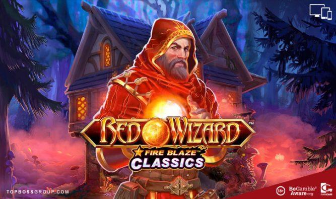 Slot Playtech Red Wizard Fireblaze