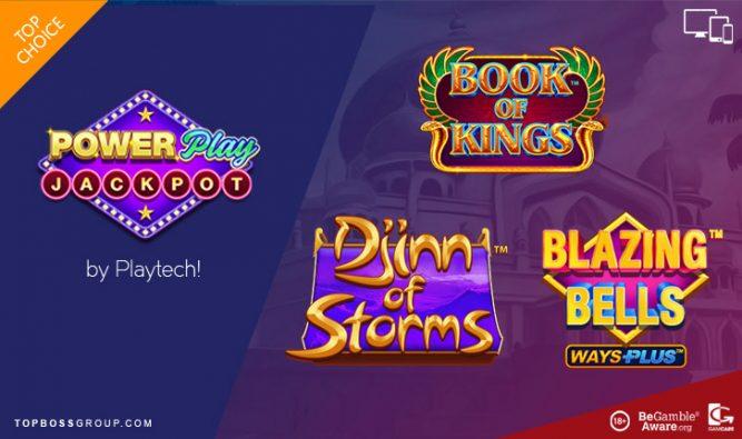 Playtech's PowerPlay Jackpot slots