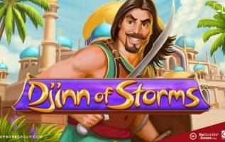 Djinn of Storms Powerplay real playing money slot