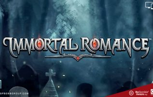 Immortal Romance by microgaming software top paying slot