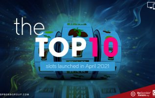 The top 10 slots launched in April 2021