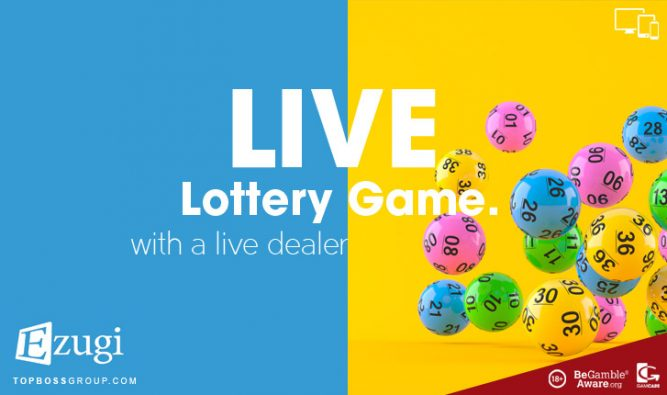 Live Lottery Game by Ezugi