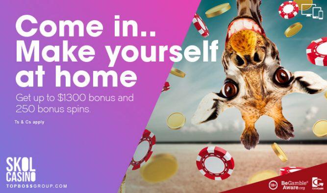 skol free bonus to players casino