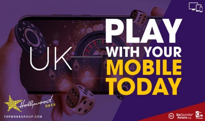 UK playing Sportsbook HollywoodBets