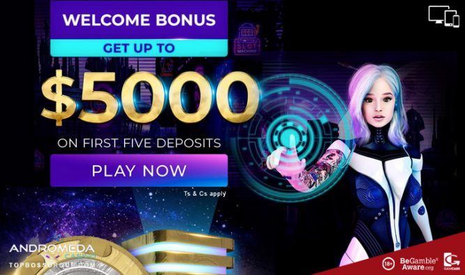 Andromeda Casino for new and beginner players