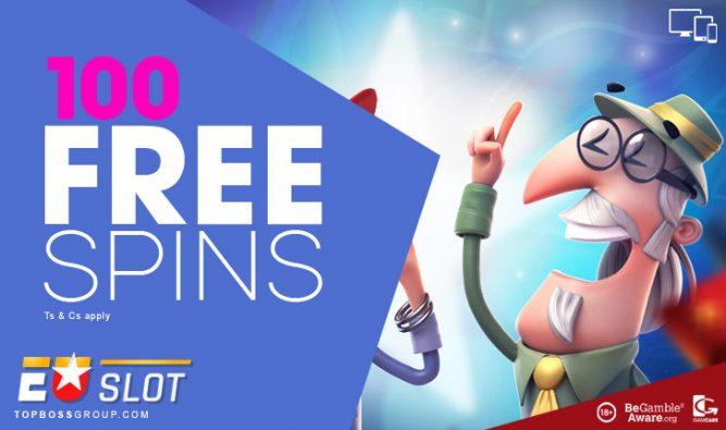 EUSlot Casino - 100 free spins